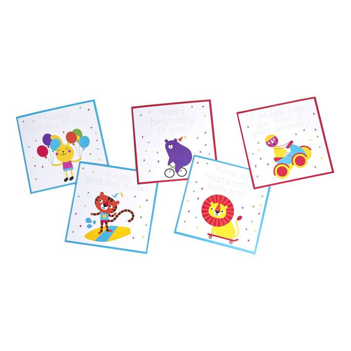 Handwriting Practice Birthday Cards 2 – Personalised Birthday Cards