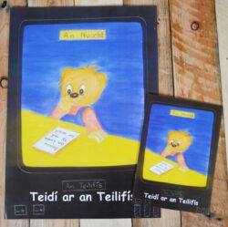 Teacher A3 Teidi ar an Tellifis