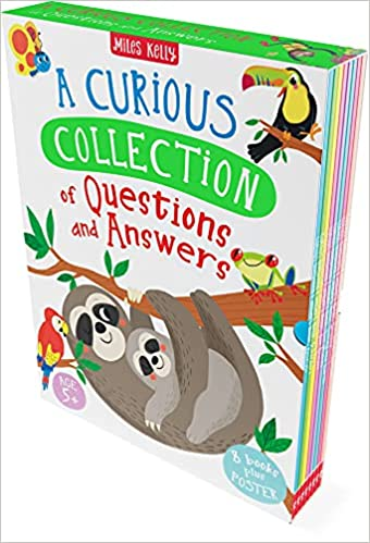 A Curious Collection of Questions and Answers 8 Books Collection Set Plus Poster